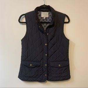 Sz. Small Cambridge Dry Goods Navy Vest
